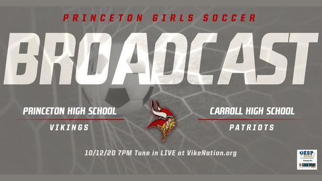 Princeton Girls Soccer vs. Carroll Patriots