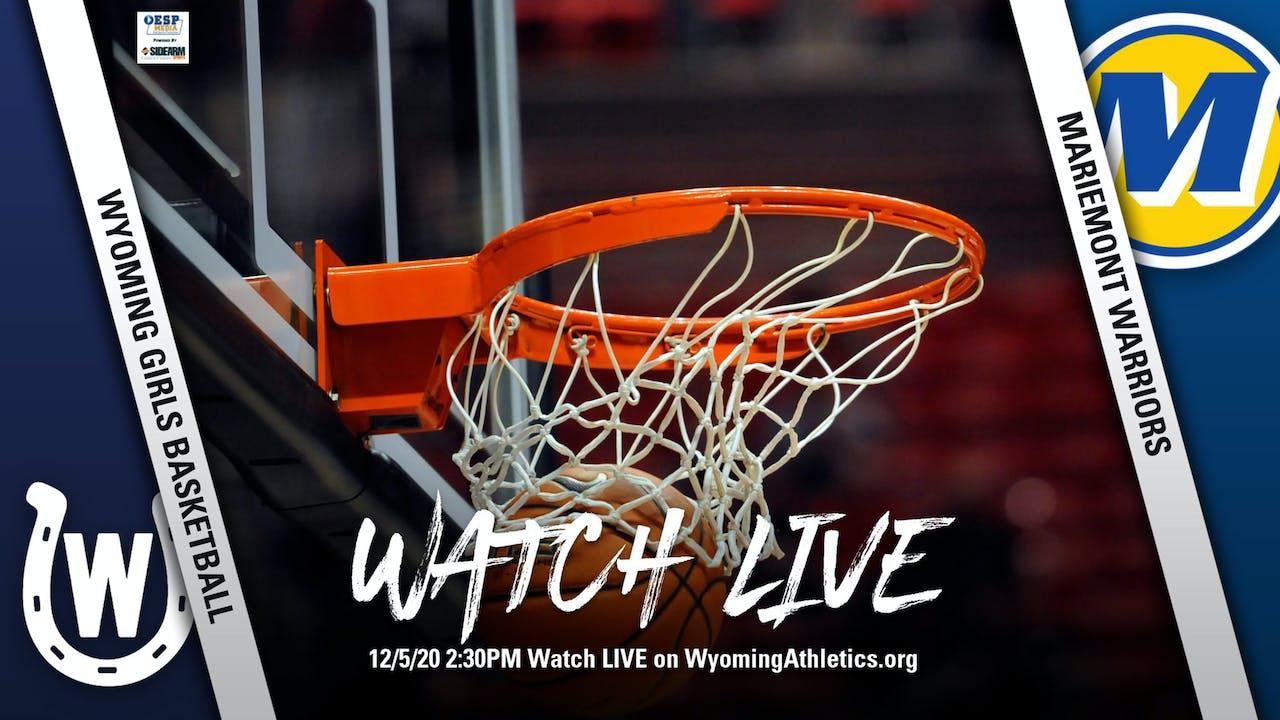Wyoming Girls Basketball vs. Mariemont