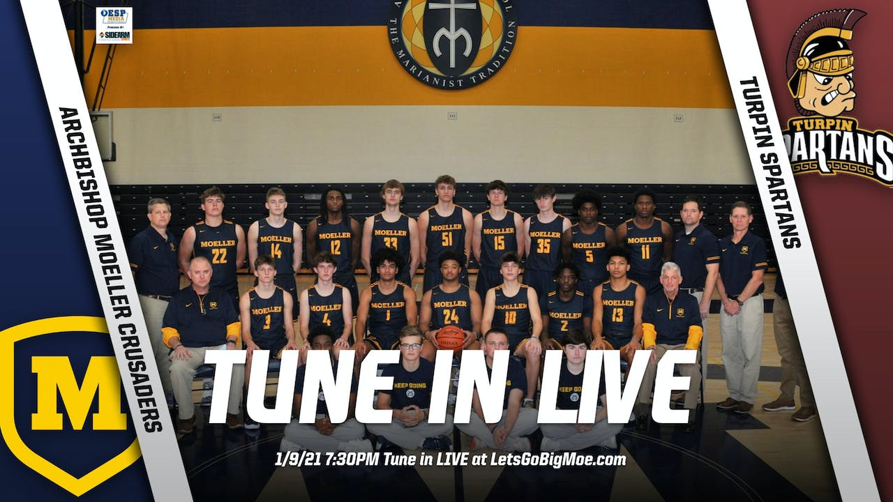 AUDIO ONLY: Moeller Basketball vs. Turpin Spartans