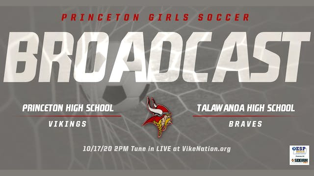 Princeton Girls Soccer vs. Talawanda ...
