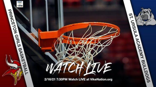 Princeton Girls Basketball vs. SUA Bu...