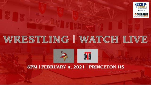 Princeton Varsity Wrestling vs. Trotwood-Madison