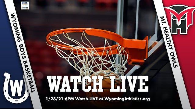 Wyoming Boys Basketball vs. Mt. Healt...