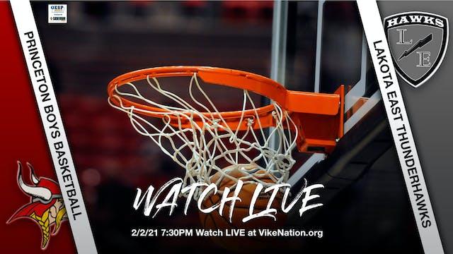 Princeton Boys Basketball vs. Lakota East