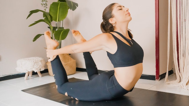 Strengthen and Lengthen Flow: Backbends and Shoulders