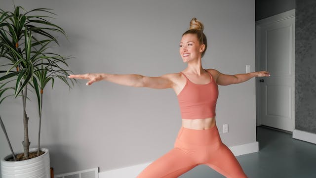 Quick Energy Vinyasa with Mary Ochsner