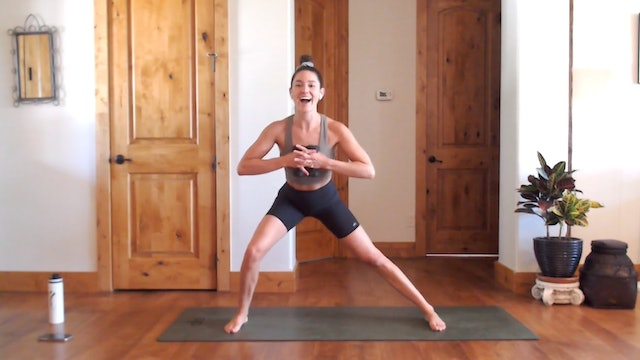 Cardio Boost: YogaSculpt with Missy Fresques (LIVE)