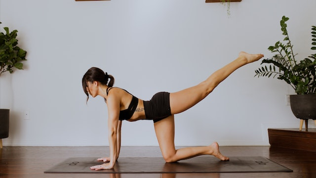 Glute + Legs: Body Weight YogaSculpt with Missy Fresques (Instagram Live)