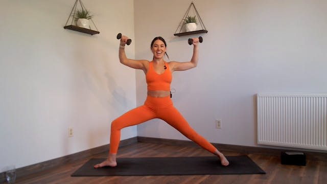 YogaSculpt: Full Body Sculpt (LIVE CL...