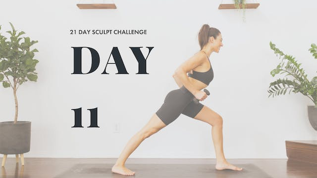 YogaSculpt: Chest and Back