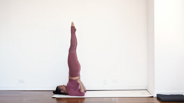 Shoulder Stand: Posture Breakdown with Melini Jesudason