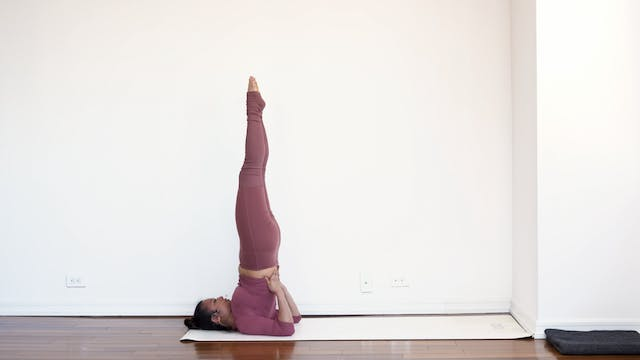 Posture Breakdown: Shoulder Stand