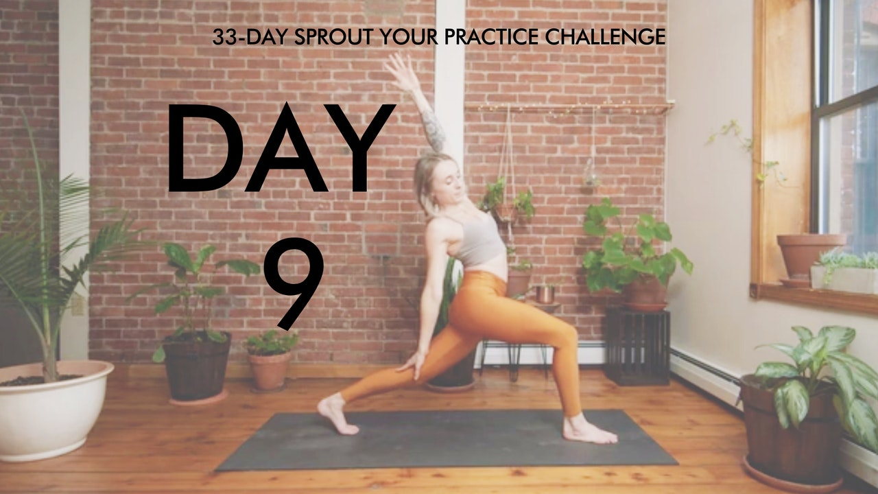 Day 9 Sprout Your Practice: Feel Good Flow