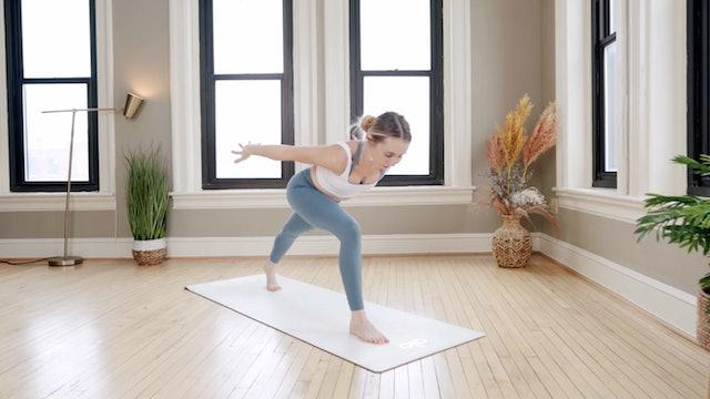 Strength & Cardio Vinyasa: Glow Flow with Kaylie Daniels