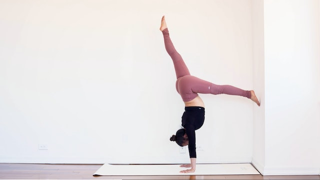 How to Use the Wall to Handstand: I with Melini Jesudason