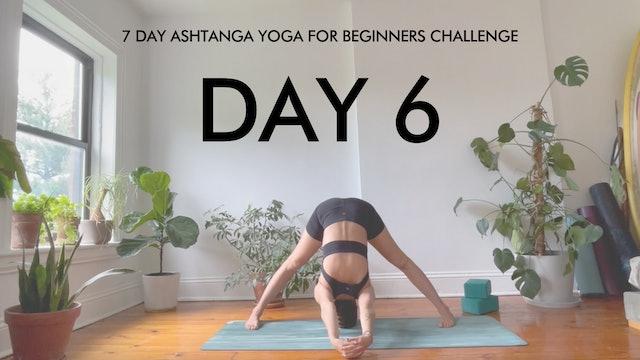 Day 6 Prasarita Padottanasana: Ashtanga Challenge with Maria Margolies