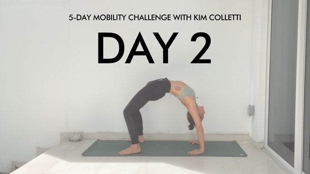 Day 2 Mobility Challenge