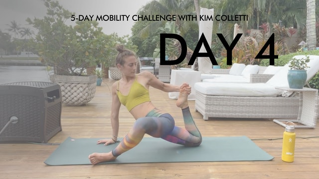 Day 4 Mobility Challenge