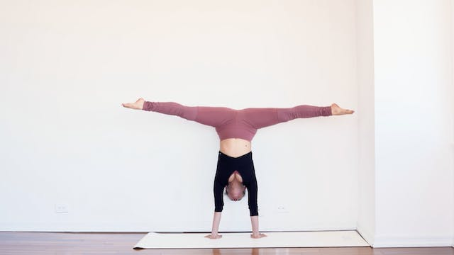 How to Use the Wall to Handstand: II ...
