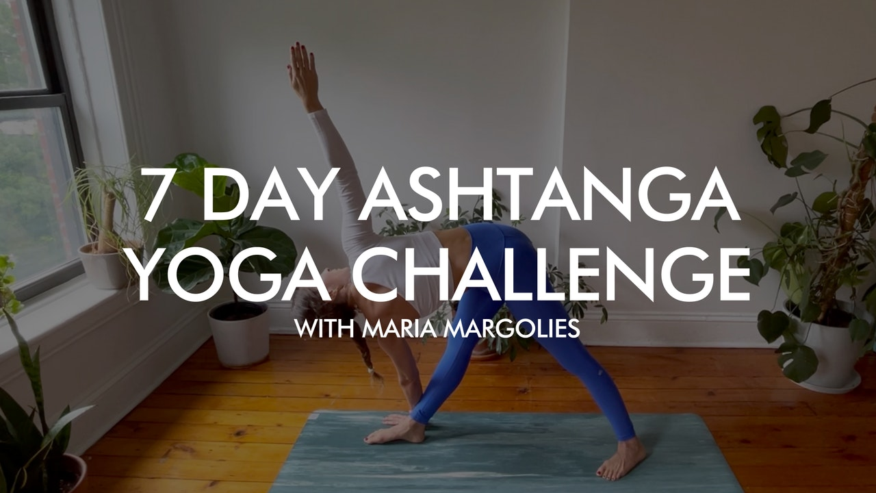Featured Challenge: 7-Day Ashtanga Yoga Challenge for Beginners