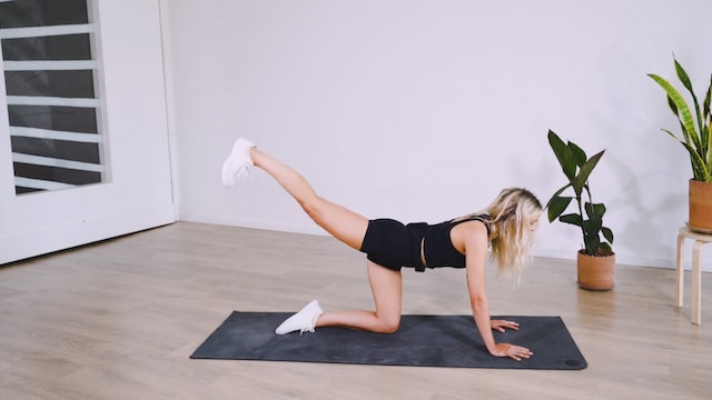 Toned Legs: HIIT Yoga with Kate Alvarado