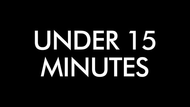 Classes Under 15 Minutes