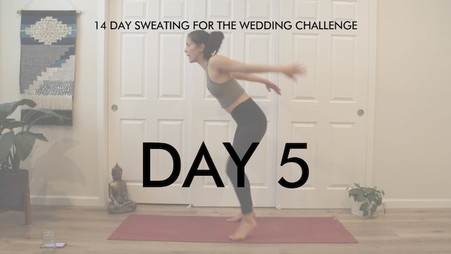 Day 5 Cardio: Sweating for the Wedding Challenge with Allison Waldbeser