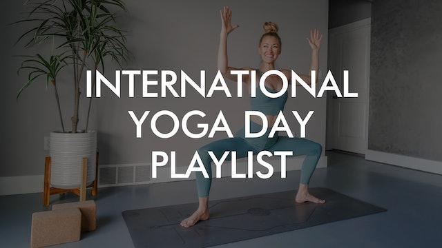 International Yoga Day Playlist