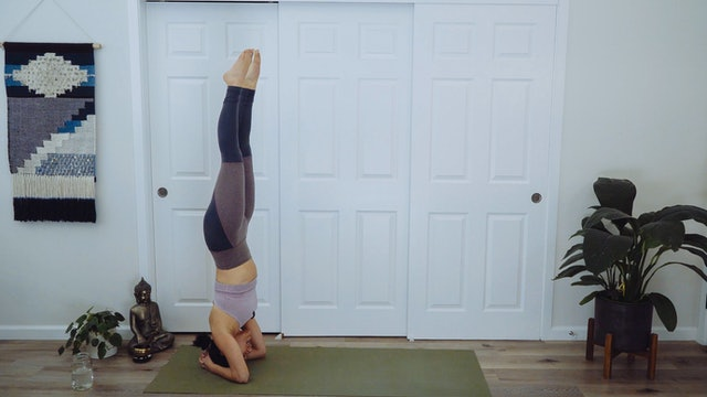 Flow into Headstand: Power Vinyasa with Allison Waldbeser