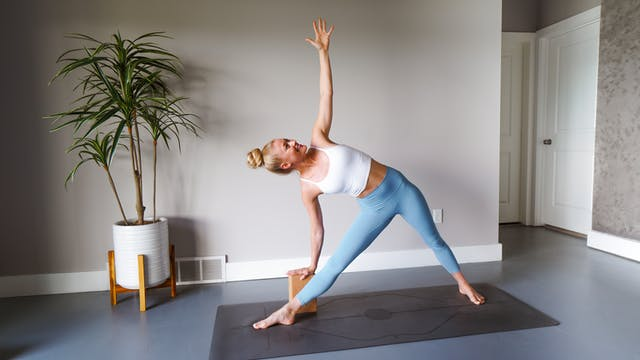 Triangle Basics: 14 Days of Yoga for ...