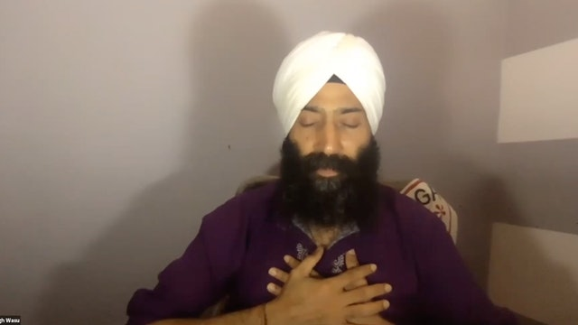 Kundalini Meditation Workshop with Punnu Singh (LIVE)