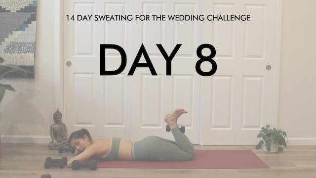 Day 8 Back & Legs: Sweating for the W...