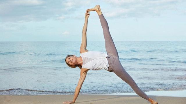 Yoga Booty Vinyasa Flow with Andrea Bogart feat. Kevin Paris (Instagram Live)