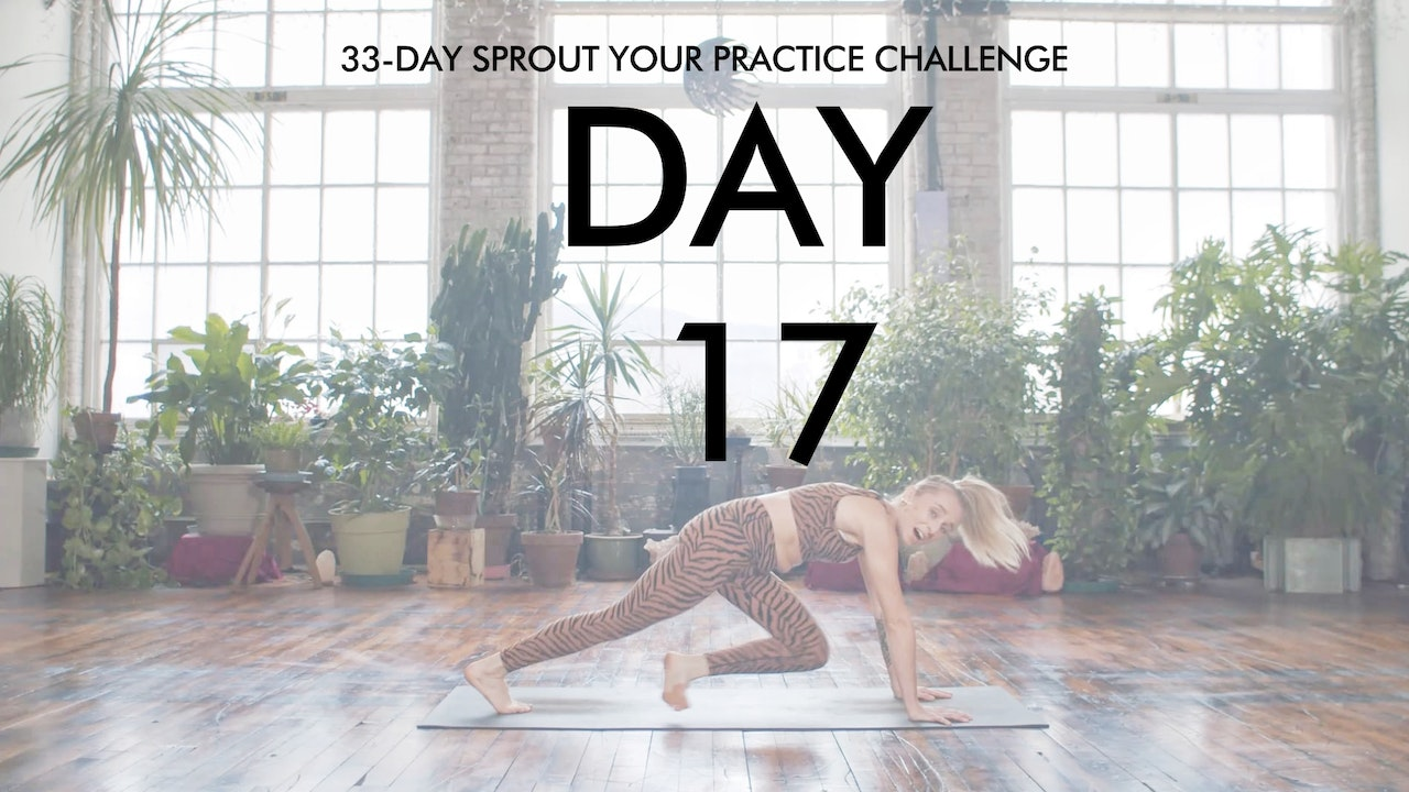 Day 17 Sprout Your Practice: Cardio Sizzle