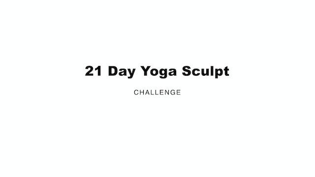 21 Day Sculpt Intro