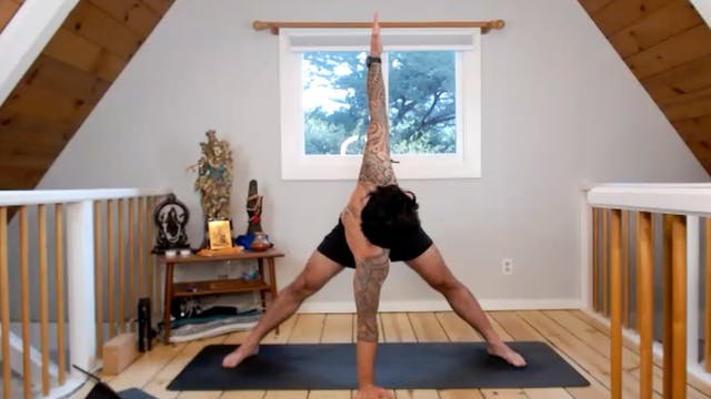 Hip Opening: Bhakti Flow with Peter W...