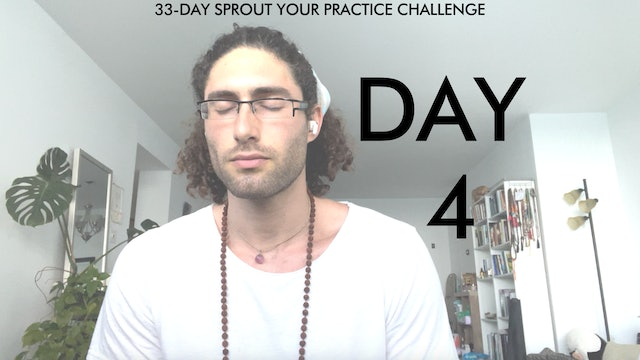 Day 4 Sprout Your Practice: 7 Minute Relaxation + Mobility Flow