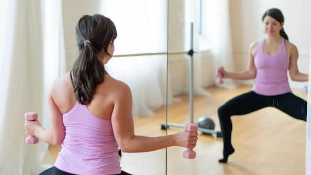 Strengthen and Tone: Barre Flow with Danielle Havens (LIVE)