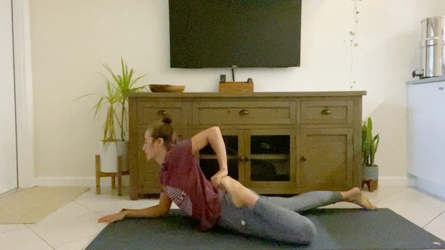Hamstring, Quad, and Ankle Mobility Flow with Kim Colletti
