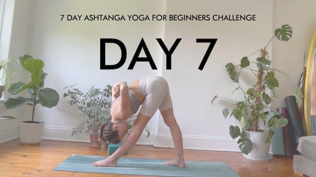 Day 7 Parsvottanasana: Ashtanga Chall...