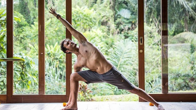 Strong and Sweaty Vinyasa with Paul T...