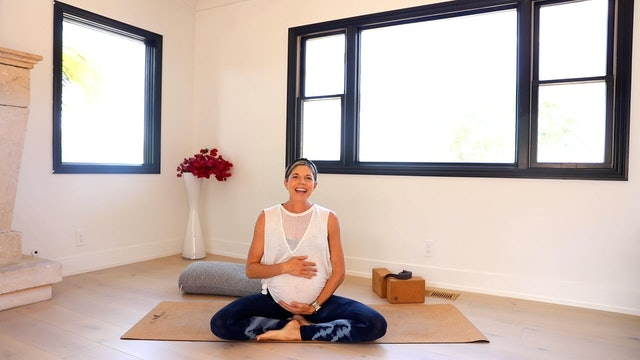 Legs, Feet & Calf Love: Third Trimester Prenatal Yoga Series with Andrea Bogart