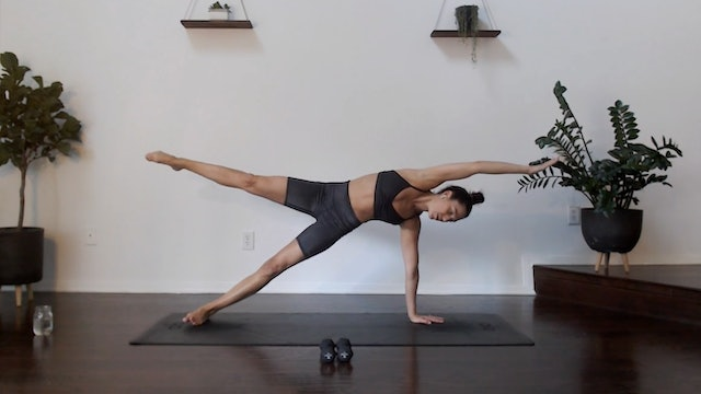 Full Body Tone: YogaSculpt with Missy Fresques (LIVE)