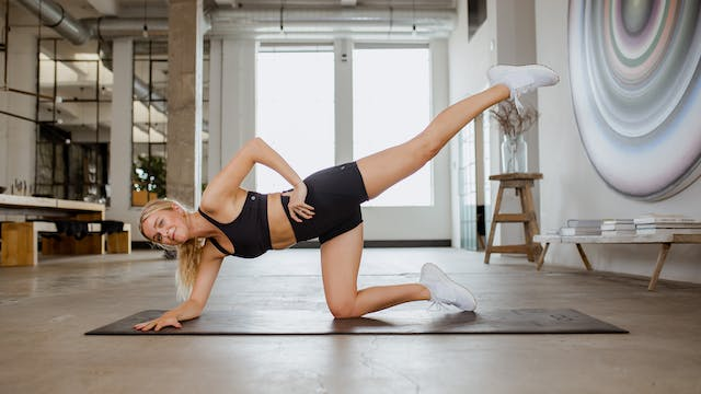 Booty and Core: The Climb HIIT Series...