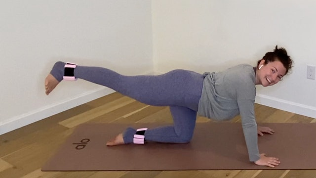 Lower Body Booty: Barre Flow with Danielle Havens