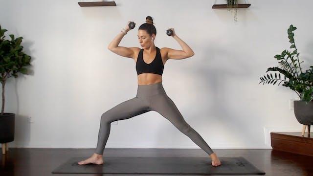 Flex & Flow: YogaSculpt with Missy Fr...