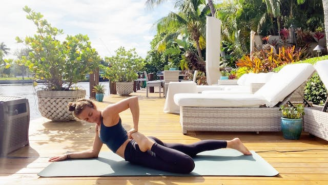 Hips & Low Back: Mobility Vinyasa wit...