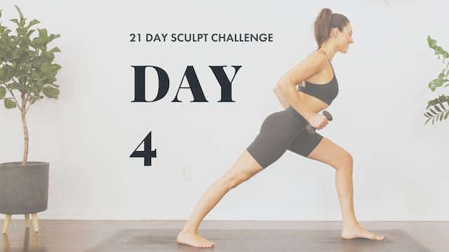 Leg Day: YogaSculpt with Missy Fresques