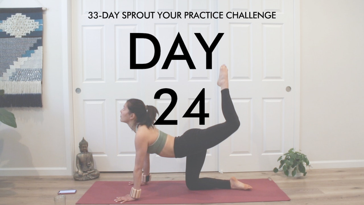 Day 24 Sprout Your Practice: Full Body Sculpt