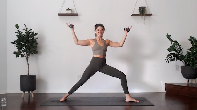 Biceps and Triceps: YogaSculpt with Missy Fresques (LIVE)